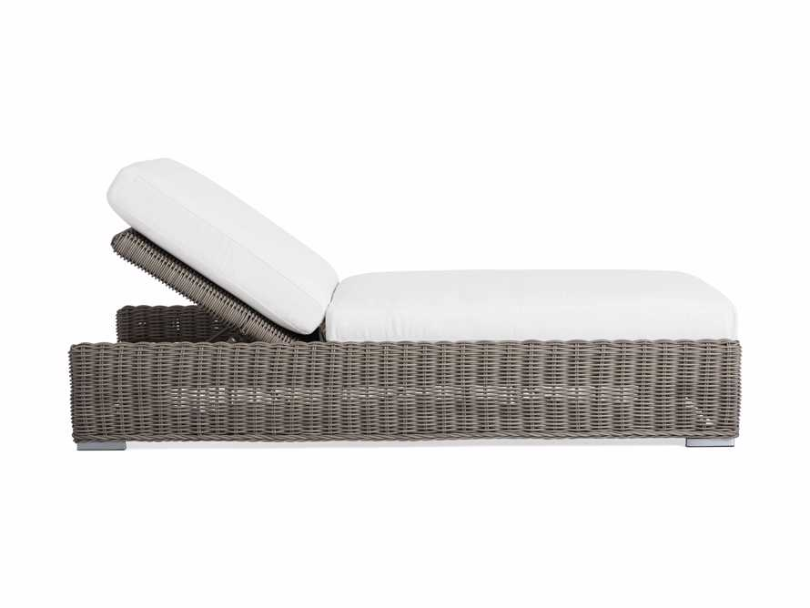 """Wyatt Outdoor 35"""" Chaise in Weathered Grey, slide 3 of 6"""