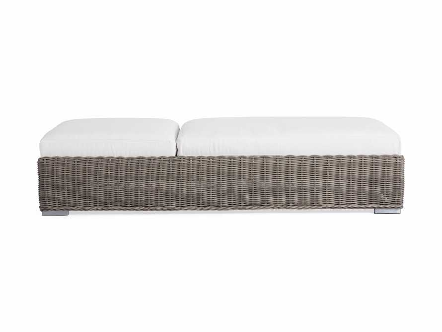"""Wyatt Outdoor 35"""" Chaise in Weathered Grey, slide 5 of 6"""