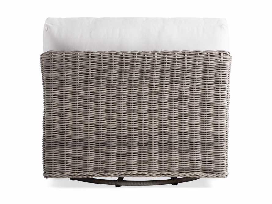 "Wyatt Outdoor 40"" Swivel Lounge Chair in Weathered Grey, slide 4 of 5"
