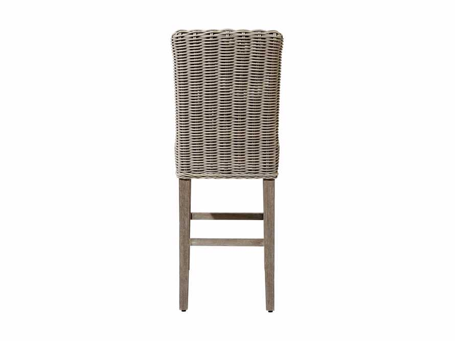 "Wyatt Outdoor 20"" Barstool in Weathered Grey"