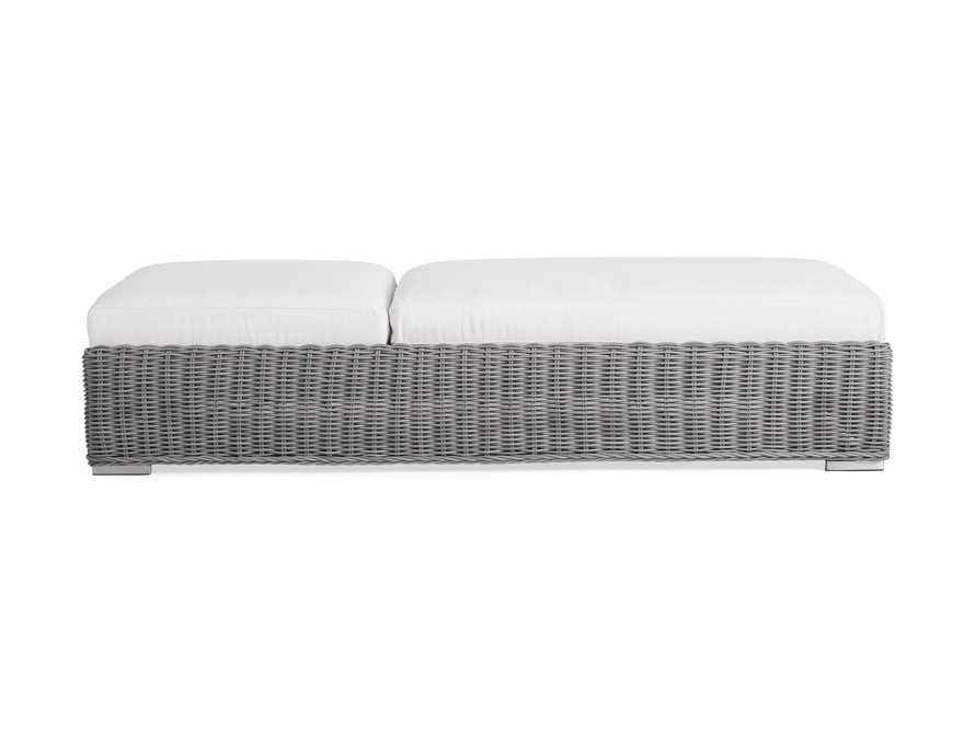 "Wyatt Outdoor 31"" Chaise in Vista Grey"