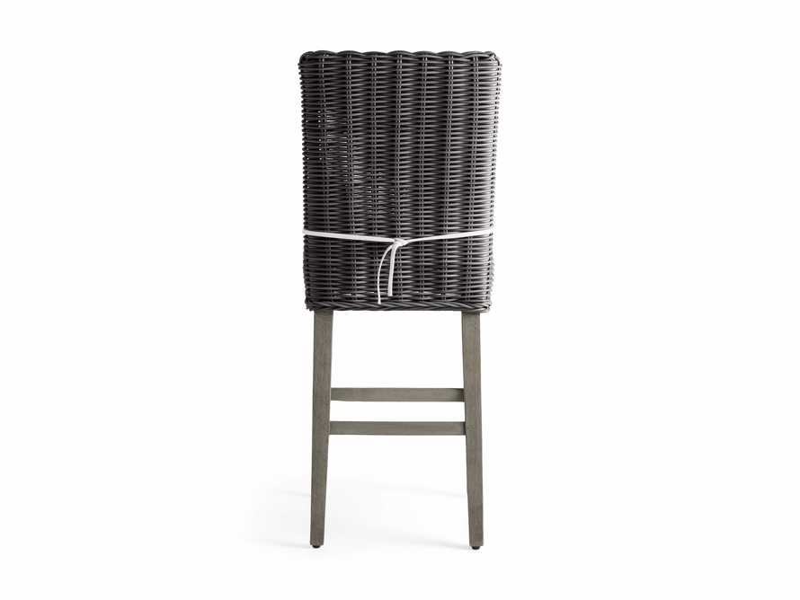 "Wyatt Outdoor 20"" Barstool in Dry Charcoal, slide 4 of 5"