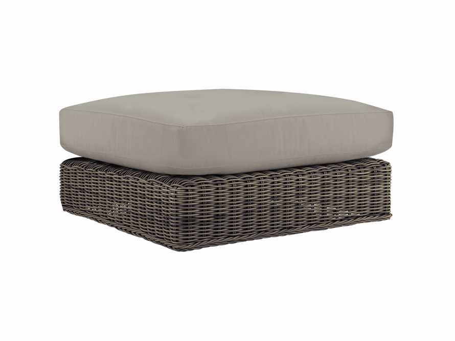 "Wyatt Outdoor 32"" Ottoman Replacement Cushion, slide 1 of 1"
