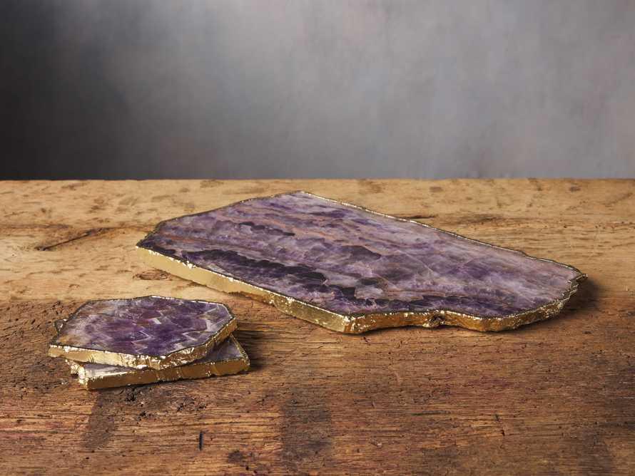 Amethyst Cheese Board, slide 4 of 5