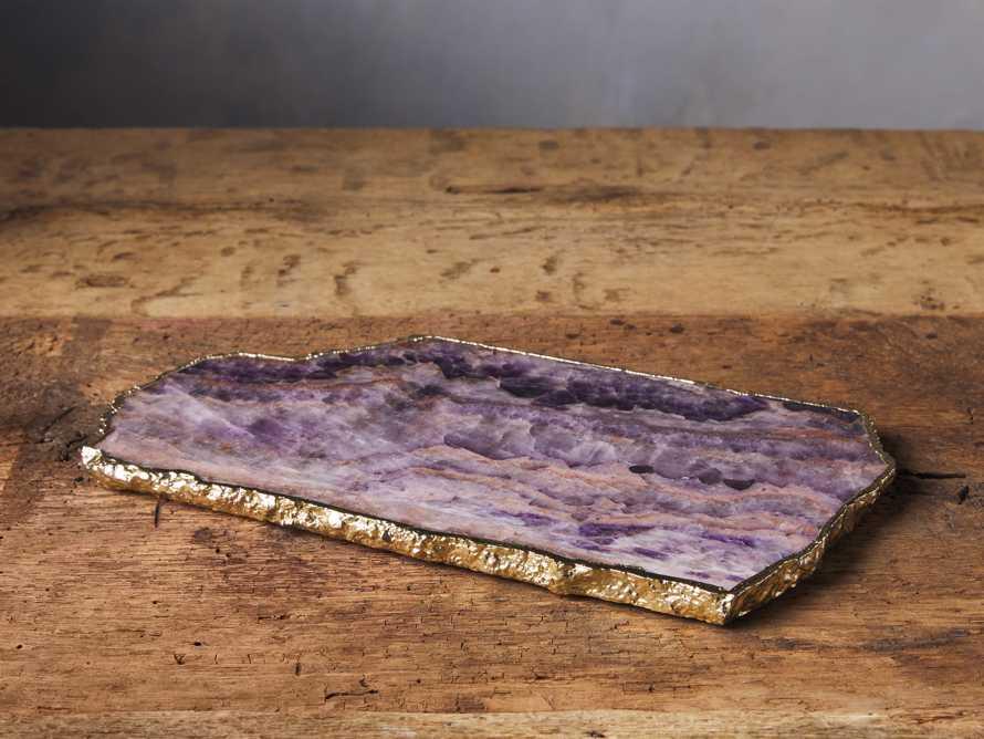 Amethyst Cheese Board, slide 1 of 5
