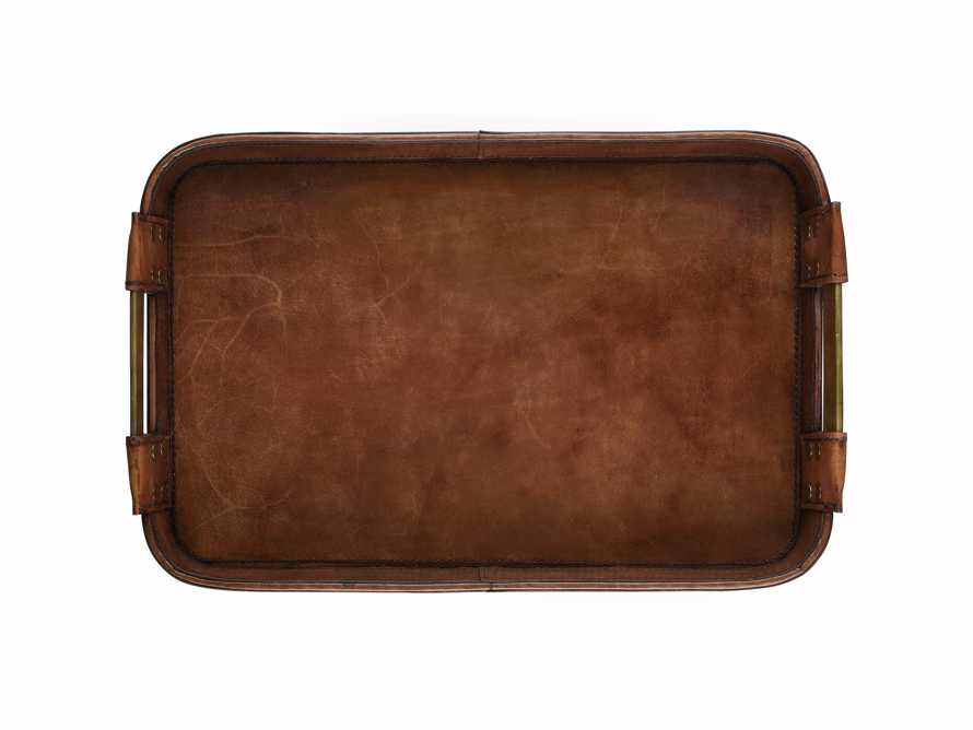 Andres Leather Tray, slide 3 of 3