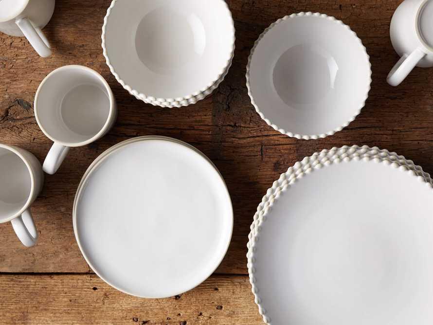 Avignon White Dinnerware (Set of 16), slide 2 of 2