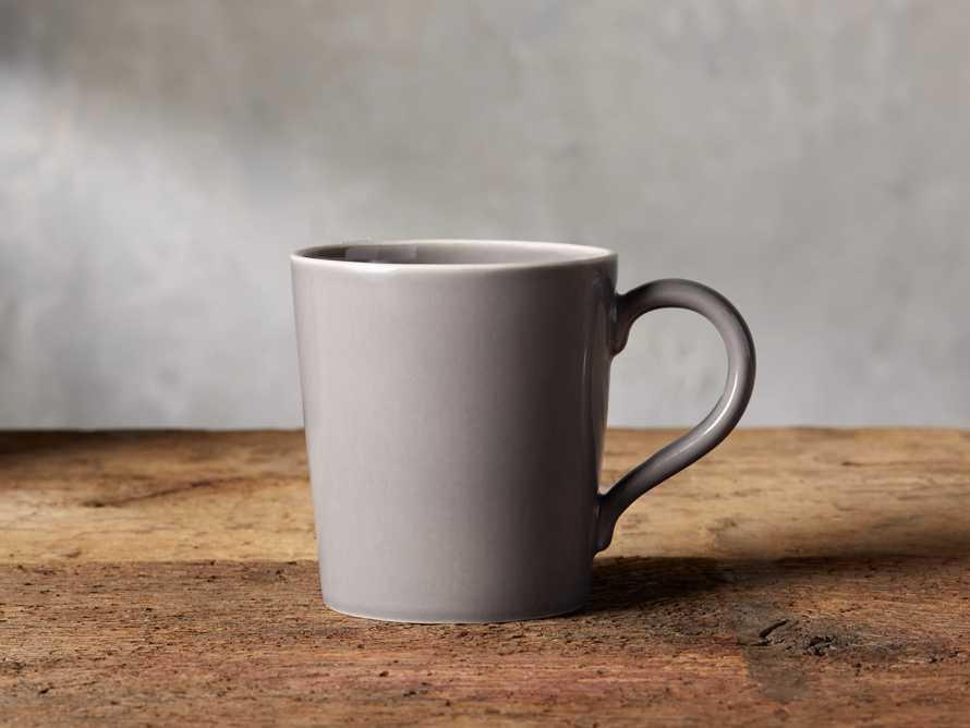 Avignon Grey Polished Mugs (set of 4), slide 1 of 4