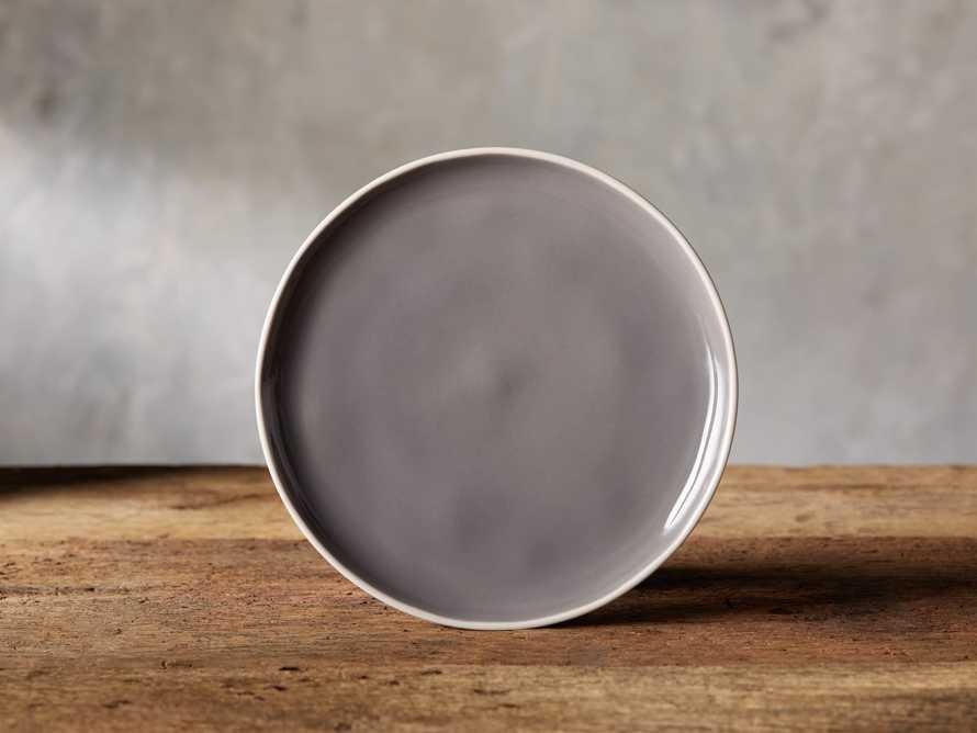 Avignon Grey Polished Salad Plate (set of 4), slide 1 of 4