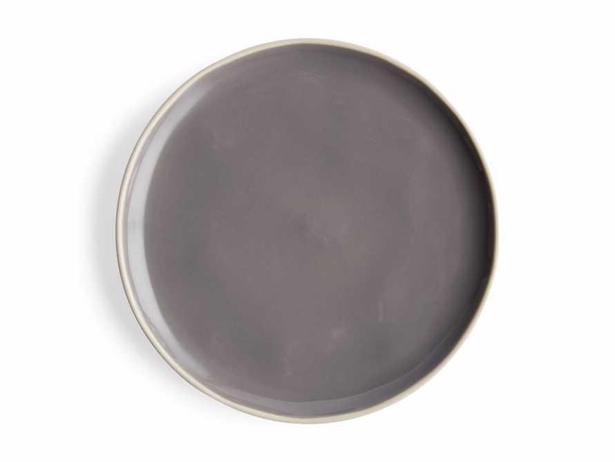 Avignon Grey Polished Salad Plate (set of 4), slide 4 of 4