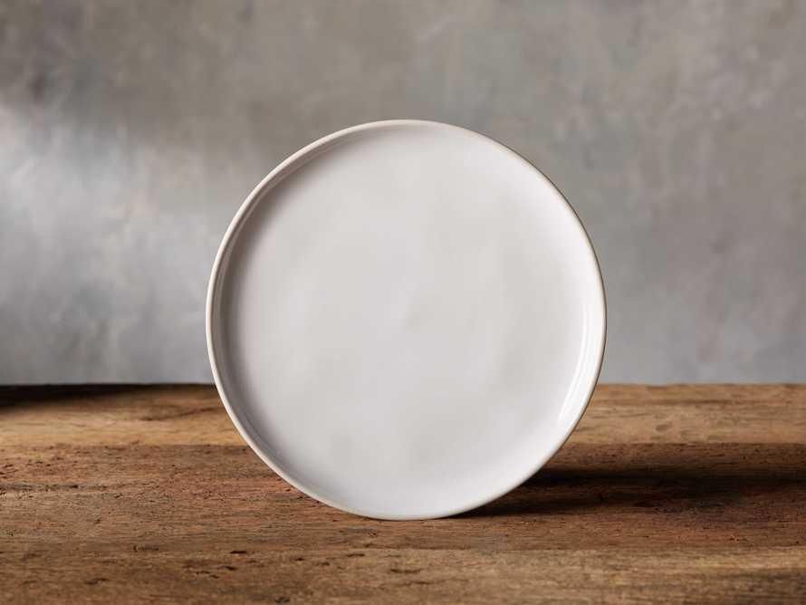 Avignon White Polished Salad Plate (set of 4), slide 1 of 4