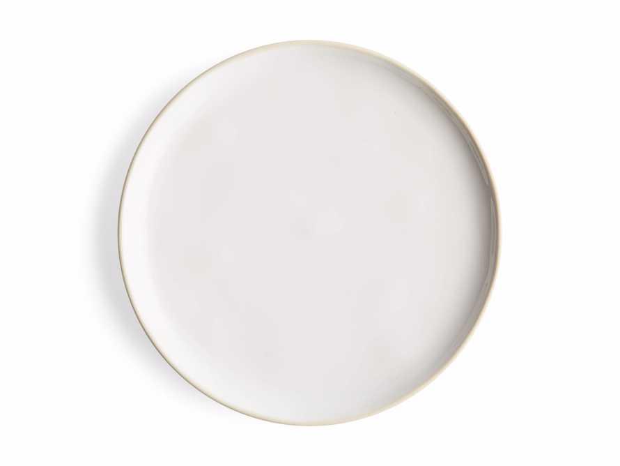 Avignon White Polished Salad Plate (set of 4), slide 4 of 4