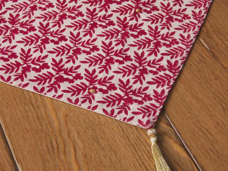 Berry Print Table Runner, slide 2 of 3