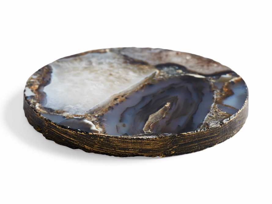 Black Agate Coasters (Set of 2), slide 4 of 6
