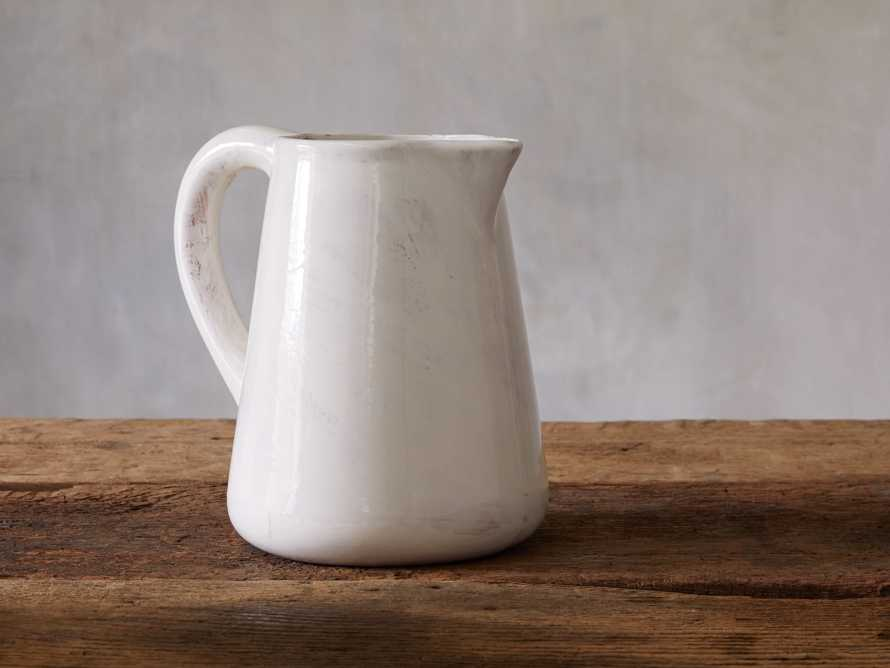 Delgado Pitcher - Come take a peek at more Arhaus French Vintage Timeless Furniture, Decor and Lighting on Hello Lovely Studio.