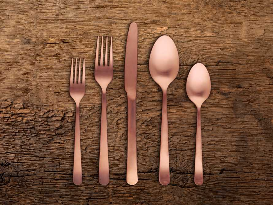 Kent 5 Piece Place Setting in Copper