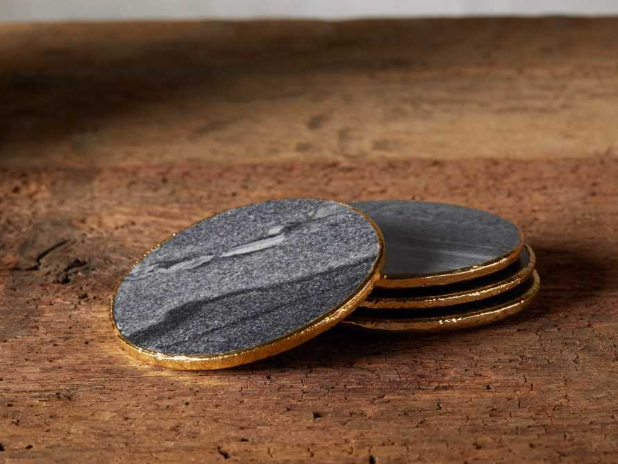 Grey Marble Coasters (Set of 4), slide 1 of 5