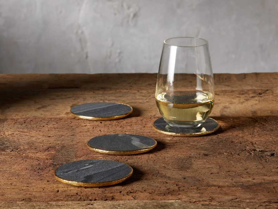 Grey Marble Coasters (Set of 4), slide 2 of 5