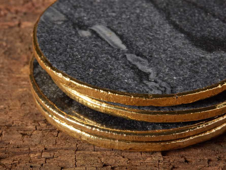 Grey Marble Coasters (Set of 4), slide 4 of 5