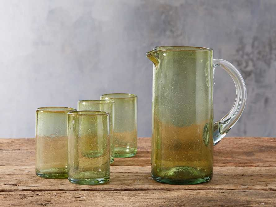 Pacific Highball glassware in Olive, slide 3 of 4