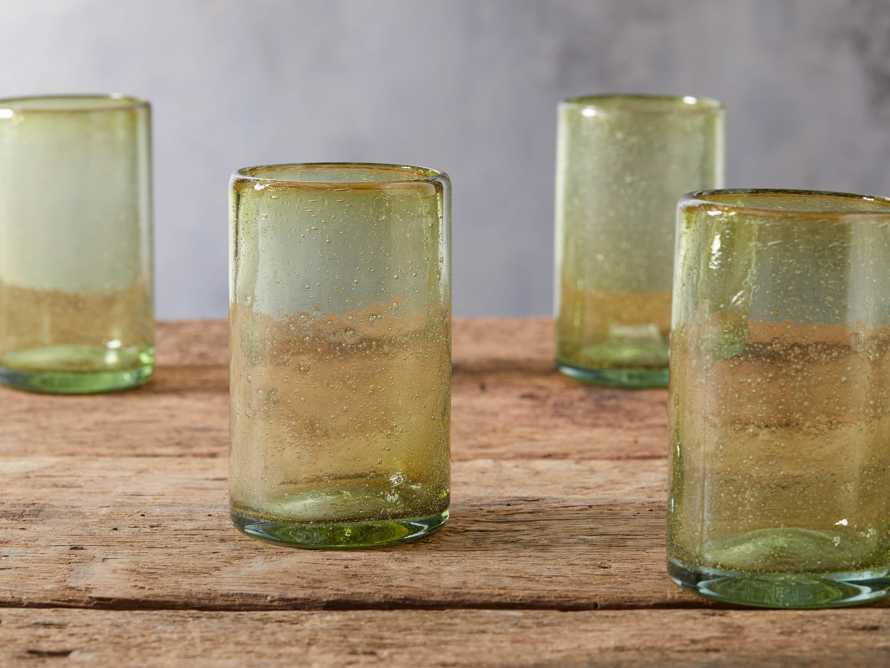 Pacific Highball glassware in Olive, slide 2 of 4
