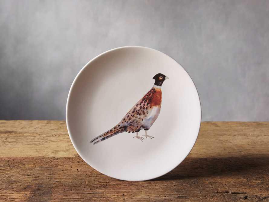 Pheasant Dessert Plate (Set of 4), slide 1 of 3