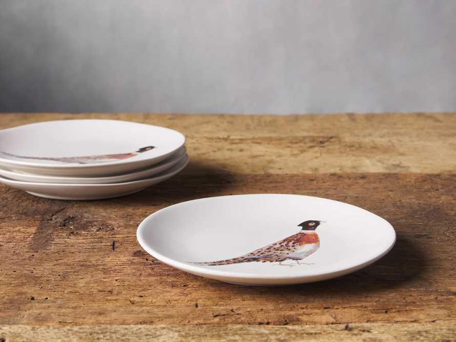 Pheasant Dessert Plate (Set of 4), slide 2 of 3