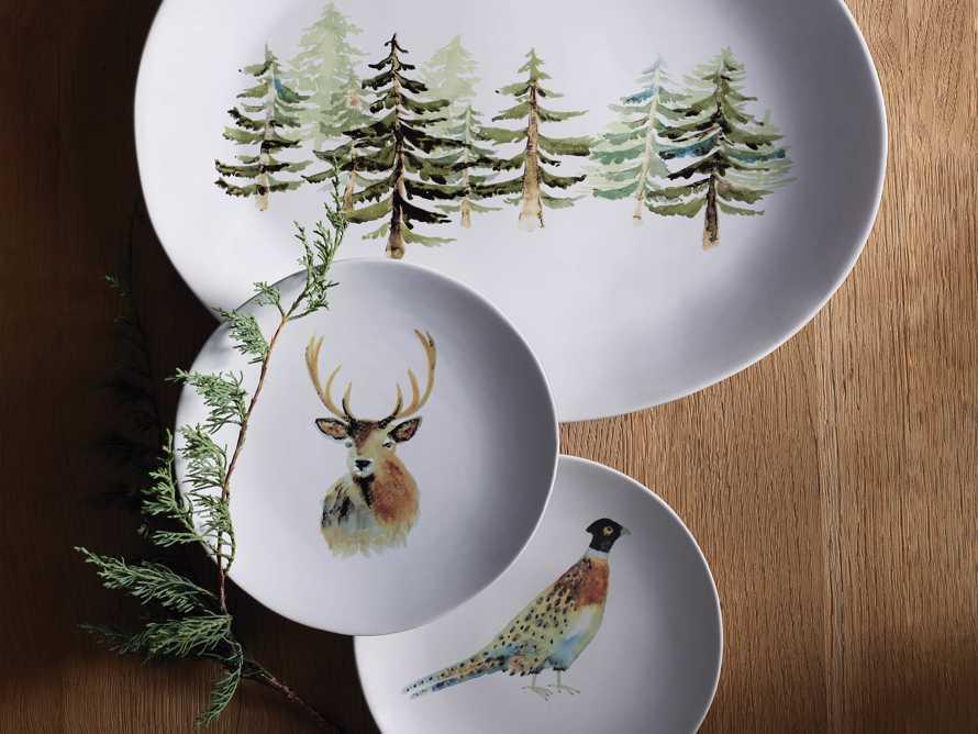 Pheasant Dessert Plate (Set of 4), slide 3 of 3