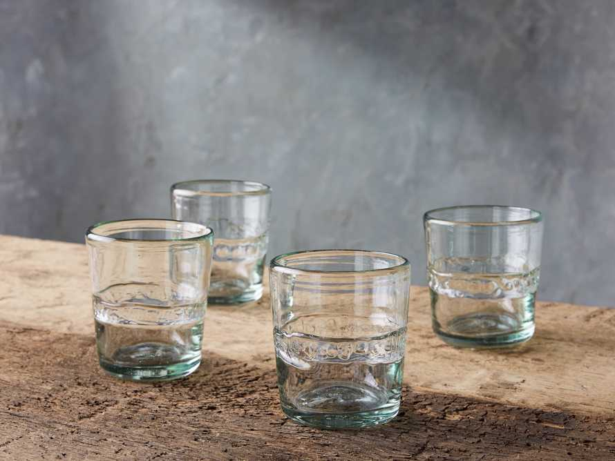 Ribbon Clear Double Old-Fashioned Glasses (Set of 4), slide 3 of 7