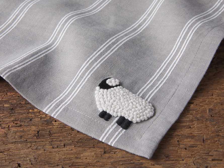 Sheep Cocktail Napkin, slide 2 of 2