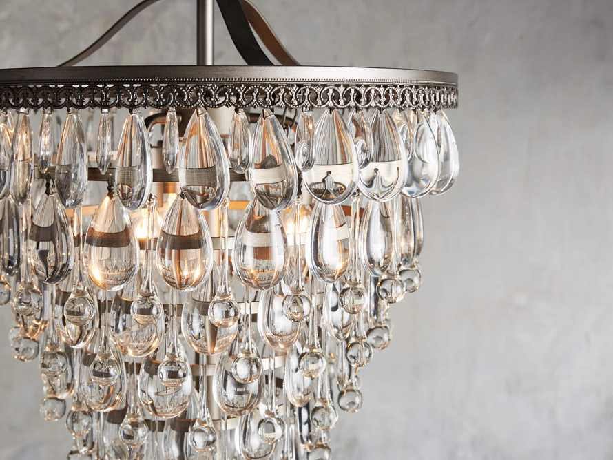 Anabella Floor Lamp in Nickel