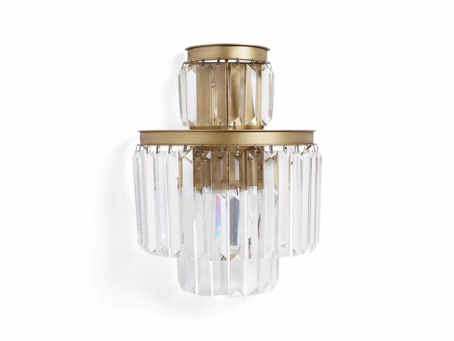Leyland Wall Sconce in Brass, slide 3 of 3