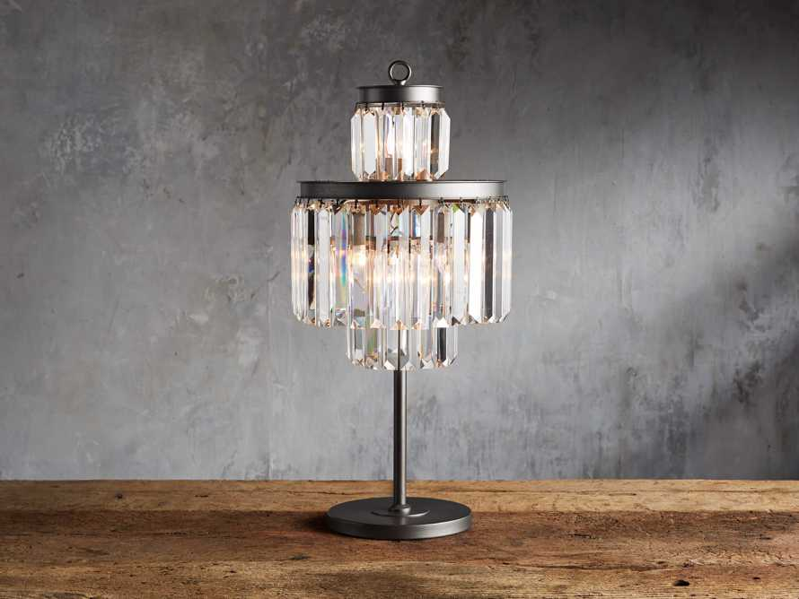 Leyland Table Lamp in Nickel