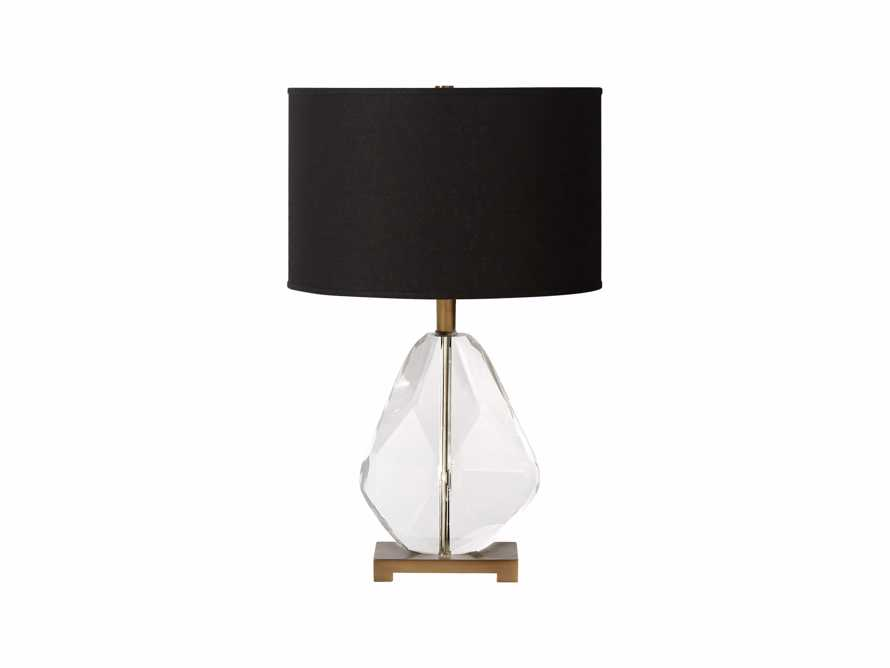 Lola Teardrop Table Lamp With Black Shade, slide 3 of 3