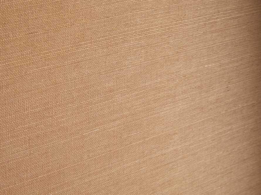 Hamden Grasscloth Wallpaper in Sunset, slide 2 of 2
