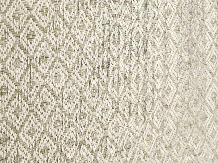 Fenton Grasscloth Wallpaper, slide 2 of 4