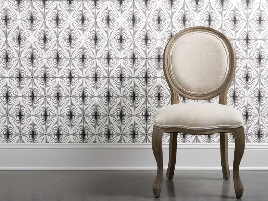 Deco Diamonds Wallpaper in Black