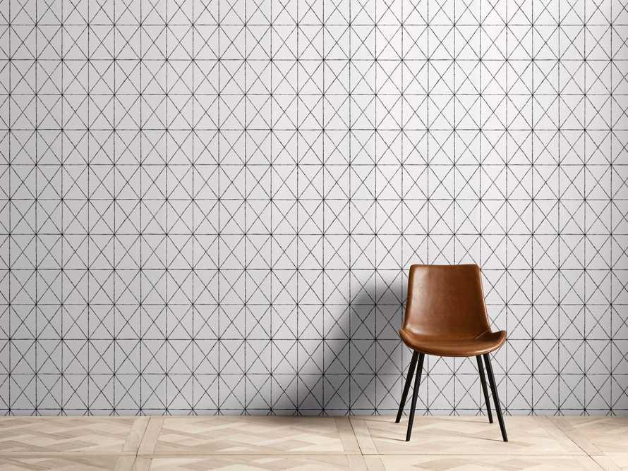 Prism Wallpaper in Black, slide 1 of 2