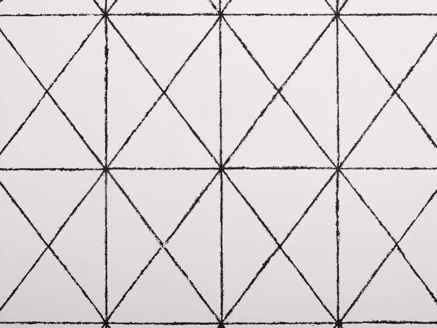 Prism Wallpaper in Black, slide 2 of 2
