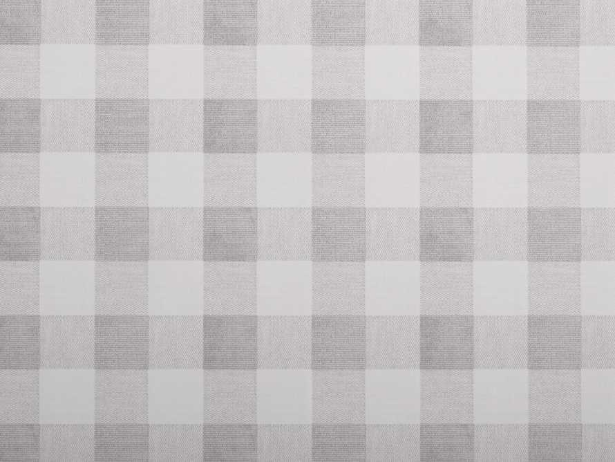 Gingham Wallpaper in Grey, slide 2 of 2