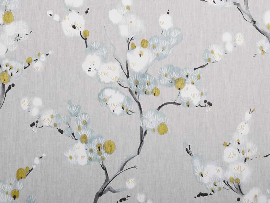 Charming Bloom Wallpaper in Blue, slide 2 of 2