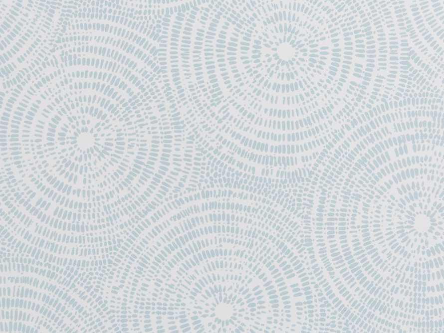 Batik Wallpaper in Light Blue