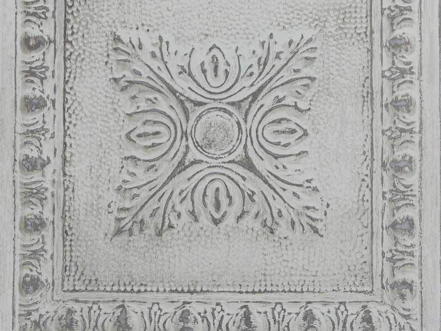 Avalon Tin Tile Wallpaper in Mint, slide 2 of 2
