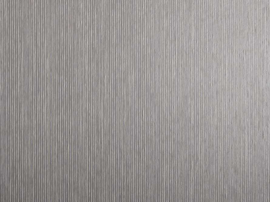 Estrada Grasscloth Silver Wallpaper