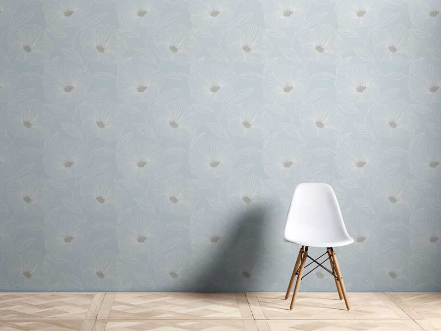 Kindred Wallpaper in Seafoam