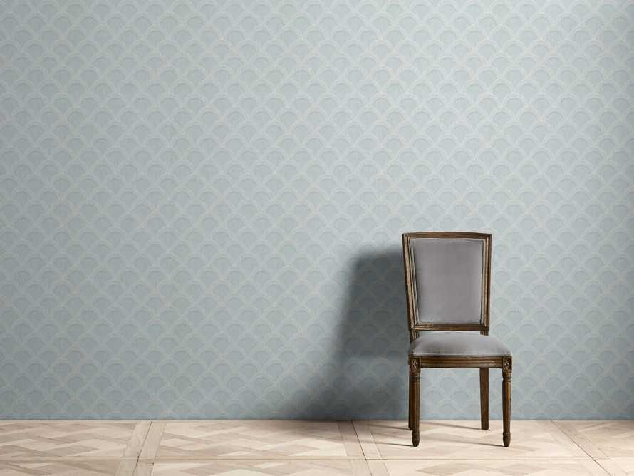 Terrace Wallpaper in Turquoise, slide 1 of 2