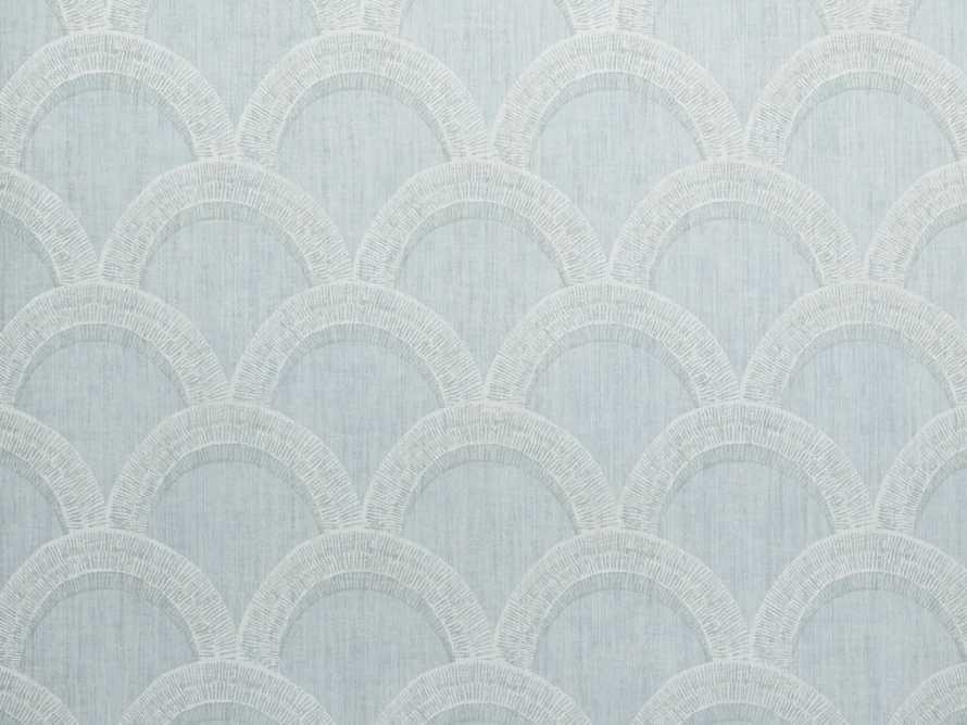 Terrace Wallpaper in Turquoise