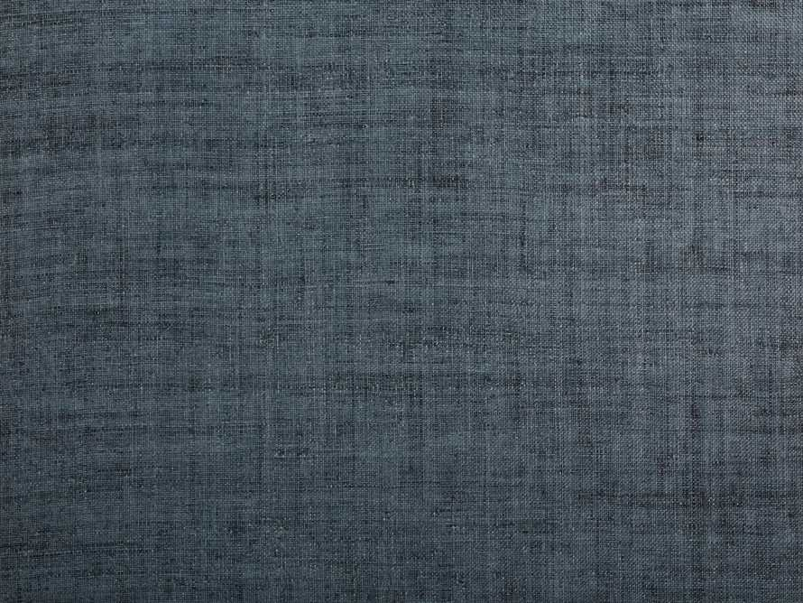 Luzon Grasscloth Wallpaper in Denim, slide 2 of 3