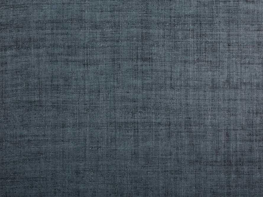 Luzon Grasscloth Wallpaper in Denim
