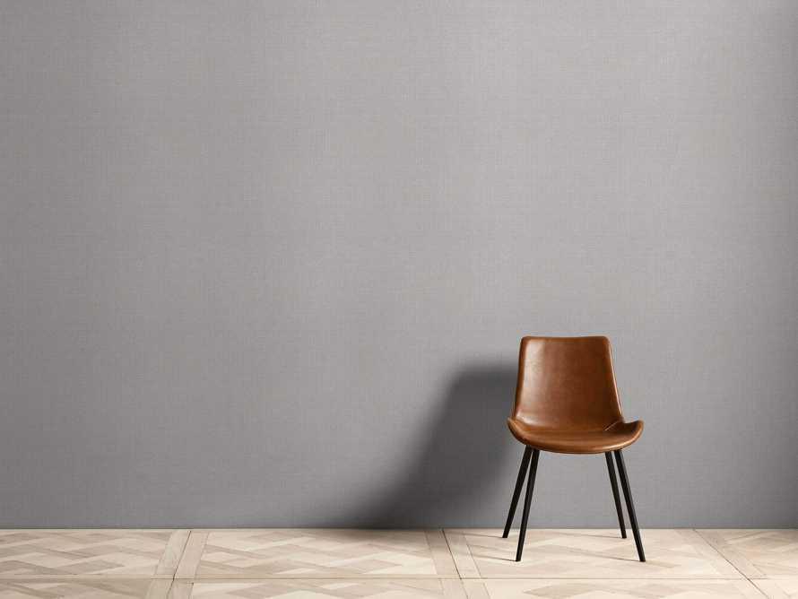 Lloyd Grasscloth Wallpaper in Grey, slide 1 of 2